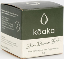 Contains New Zealand Hemp Seed Oil as a base, with calming essential oils combined with coconut oil, cocoa and shea butter to give a thick balm that is perfect for regular use on skin prone to becoming dry or aggravated.