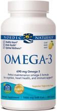 Provides  a generous, non-concentrated serving of omega-3s for everyday support for the heart and brain, in pure, great-tasting liquid in soft gels.