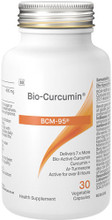 Bio-Curcumin BCM-95 utilises BCM-95®, a Patented and Synergistic Combination of Curcumin + Ar-Turmerone Oil, which may help relieve symptoms related to inflammation and support joint health