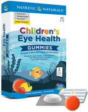 Formulated with Omega-3 DHA, Lutein and Zeaxanthin to Support Eye Health, Visual Function, and Help Protect Against Blue Light Exposure