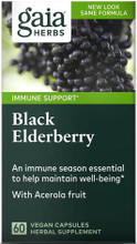 Contains Black Elderberry with Acerola Fruit to Provide an Immune Season Essential to help Maintain Well Being