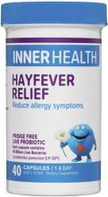 Contains the Live Probiotic Lactobacillus paracaei (LP-33®) to Reduce Allergy Symptoms
