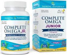 Blend of Omega-3 EPA and DHA from fish oil with GLA from borage seed oil to promote a healthy nervous system