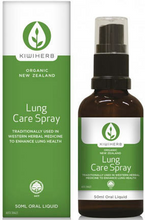 Certified organic, antioxidant-rich tonic that supports the clearing of airborne pollutants from the lungs - Elecampane, Ginger and Horseradish support lung health; combined with New Zealand-grown Blackcurrant to protect against free radical damage, it's a handy go-to for city dwellers or travelers in polluted environments