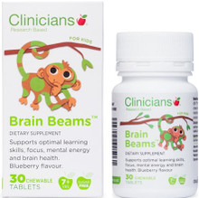 Contains Brain Factor-7® , a natural silk protein, which has been well researched and has been shown to support cognitive function, needed to support good learning skills in children.
