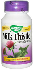 Milk Thistle contains a substance called silymarin that has been shown to support liver function, Nature's Way Milk Thistle is standardized to ensure consistent levels of silymarin