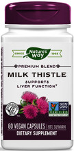 Contains Milk Thistle Seed Extract (standardized to 80% silymarin) and Blessed Thistle to Support Liver Function
