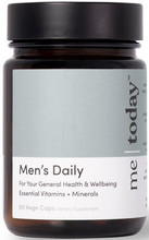 Me Today Men's Daily is your premium quality formula containing 27 vitamins, minerals & herbs for your general health & wellbeing