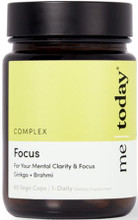 Contains Ginkgo, Brahmi and Specific Nutrients to Support Mental Clarity and Focus