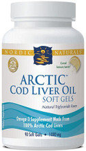 Pharmaceutical Grade Omega-3 Supplement Made From 100% Arctic Cod Livers