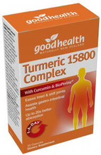 Formulated with Curcumin and BioPerine for 20X Better Absorption