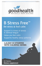 Slow Release B Complex, Passionflower, Lemon Balm and Other Specific Nutrients and Herbal Extracts to Target Stress and Nervous Tension