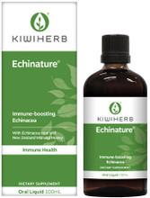 Certified Organic, Premium New Zealand Grown Echinacea Purpurea Root with Active Manuka Honey