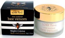 New Zealand Bee Venom Night Creme with Active Manuka Honey