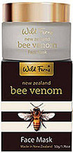 New Zealand Bee Venom Combined with Active Manuka Honey and Selected Natural Ingredients for Intense Refining and Softening Facial Skin