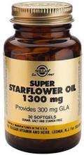 Contains Cold-Pressed Starflower Oil Providing 300mg GLA per Softgel