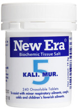 Potassium Chloride and Biotin Homeopathic Formulation Designed to Easily Dissolve in the Mouth
