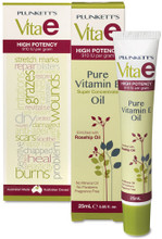 Super-Concentrated Pure Vitamin E (High Potency – 910 IU/gram) Enriched with Rosehip Oil