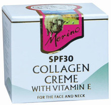 Marine Collagen, Natural Lanolin and Vitamin E in a Non-Greasy Cream Formulation for Face and Neck Protection