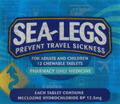 Sea-Legs Meclozine Chewable Tablets 12