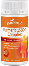 Contains Curcumin, with BioPerine (Black Pepper) and the Three Ayurvedic herbs, Boswellia, Ginger & Ashwagandha