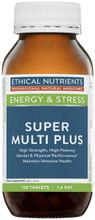 Comprehensive Multi Vitamin and Mineral Formula Including Herbal Extracts of Eleutherococcus senticosus root, (Siberian Ginseng) and Silybum marianum, fruit (Milk Thistle)
