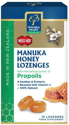Manuka Health Manuka Honey and Propolis Lozenges 15