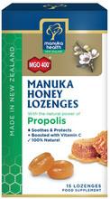 Lozenges Containing Propolis and High Grade MGO™ 400+ Manuka Honey