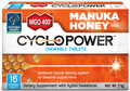 Chewable Tablet Containing High Grade MGO™ 400+ Manuka Honey Complexed with Natural Cyclodextrins