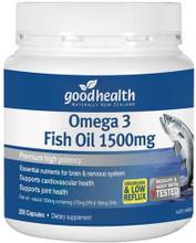 High Strength Omega 3 Supplement, Providing Eicosapentaenoic acid (EPA) - 270mg, and Docosahexaenoic acid (DHA) - 180mg Per Capsule