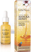 Premium Certified New Zealand Manuka Honey 80+ Combined with Vitamins A, C and E, Sweet Almond, Rosehip and Evening Primrose Oils, Royal Jelly and Bee Pollen, Aloe Vera and Blackcurrant Oil