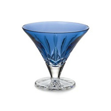 "Lismore Giftware Sapphire 5"" Footed Bowl"