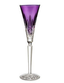Lismore Jewels Barware Amethyst Tall Flute- Single