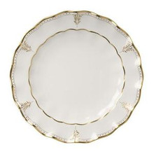 Royal Crown Derby Elizabeth Gold Round Chop Plate 13.5""
