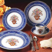 Mottahedeh Mandarin Bouquet 5 Piece Place Setting