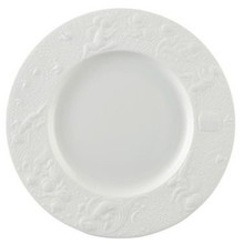 Rosenthal Magic Flute White Service Plate 12""