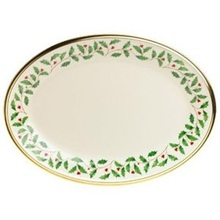 Lenox Holiday Oval Platter 16""