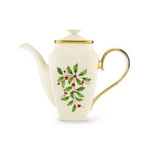 Lenox Holiday Square Coffeepot 58 Oz