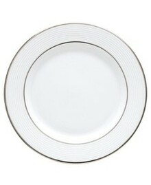 "Lenox Opal Innocence Stripe Butter Plate 6"" Set of 6"