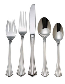 Reed & Barton 1800 Stainless 5-Piece Place Set