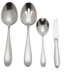 Reed & Barton Stainless Pomfret 4-Piece Hostess Set