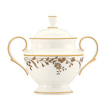 Lenox Golden Bough Covered Sugar Bowl