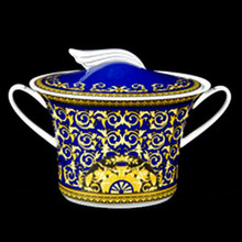 Versace Medusa Blue SPECIAL IMPORT Soup Tureen, 77oz.