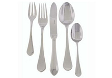 Ercuis Citelle Stainless Steel 5 Piece Place Setting