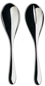 Ercuis Mezzo Stainless Steel Salad Serving Spoon & Fork