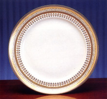 Mottahedeh Chinoise Blue Chop Plate