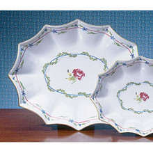 Mottahedeh Cornflower Garland G-9 Large 12-Lobed Tray