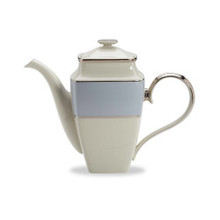 Lenox Blue Frost Square Coffeepot 58 oz