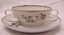 Stonegate / Heritage Wooddale Cream Soup Cup & Saucer