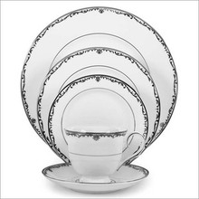 Lenox Coronet Platinum 5 Piece Place Setting